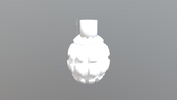Frag Grenade Model 3D Model