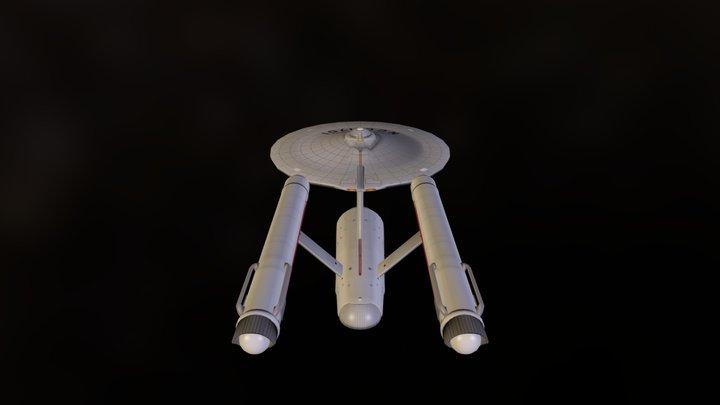 USS Enterprise NCC 1701 3D Model