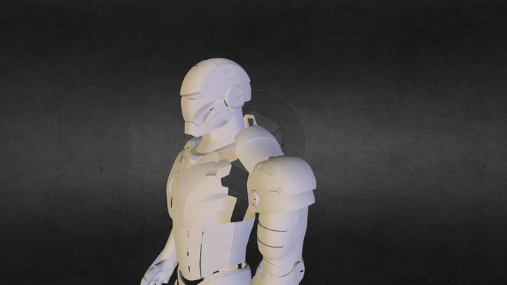 Advan - Iron Man 3D Model