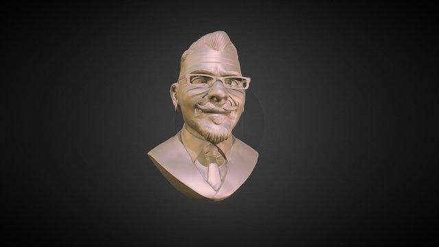 Head Sculpt by Ragdoll Studio LLC 3D Model