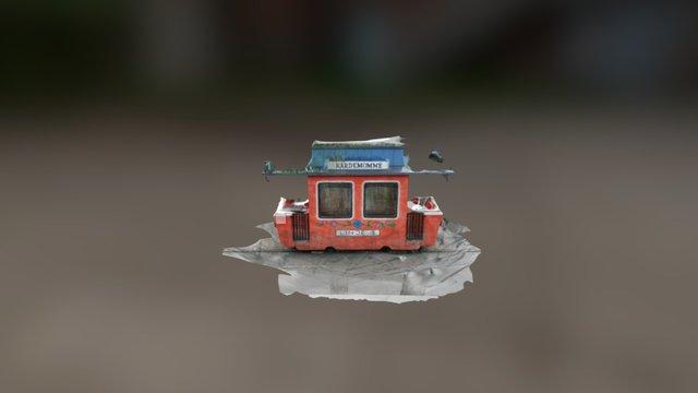 Kristinsand Amusement Park -The Cardamom Tram 3D Model