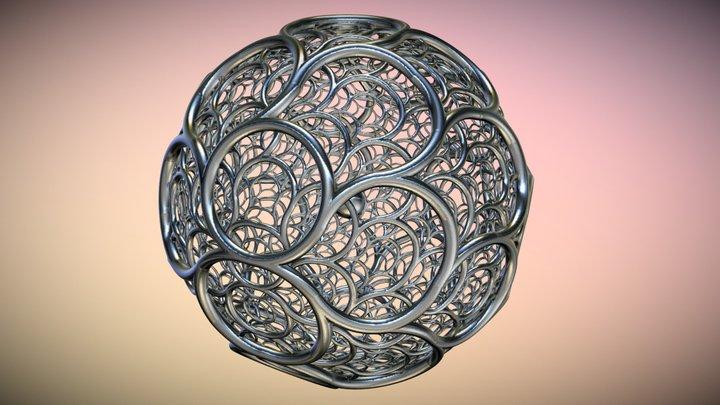 Silver Tiling 3D Model