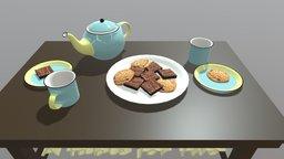 Tea Party: Final 3D Model