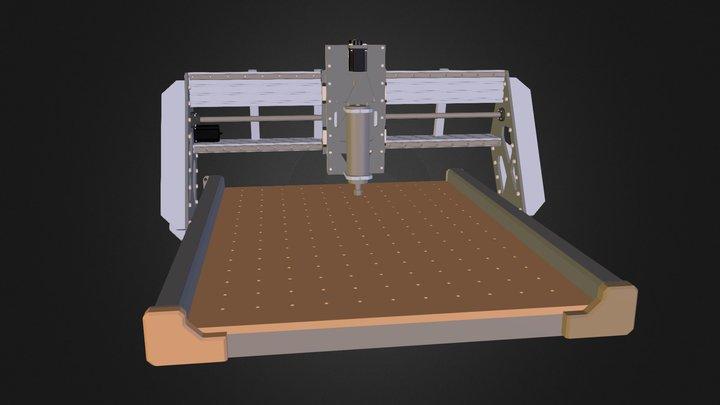 ripper CNC 3D Model