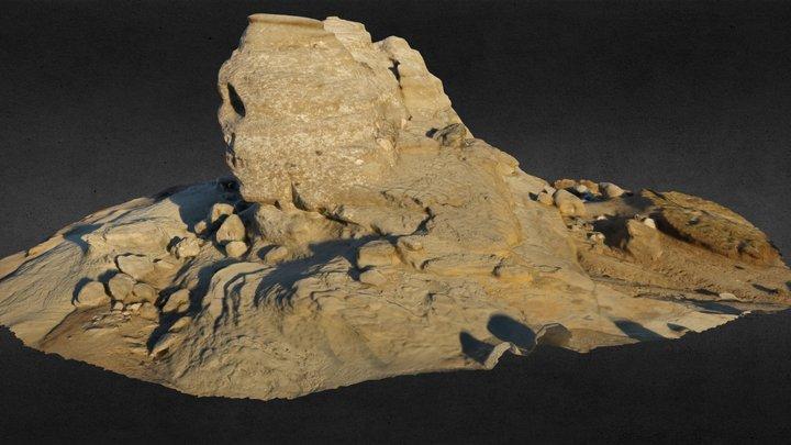 Carpathian Sphinx- Sfinxul Carpatin 3D Model