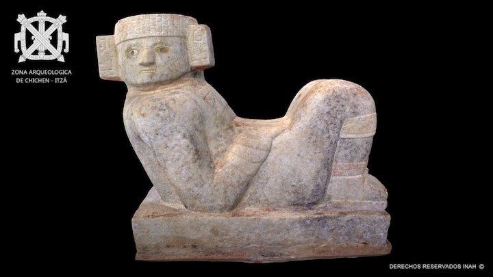 Chac Mool - Castillo de Chichén-Itzá 3D Model