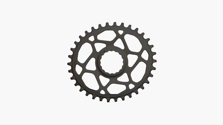 Eliptic Bike Gear 3D Model