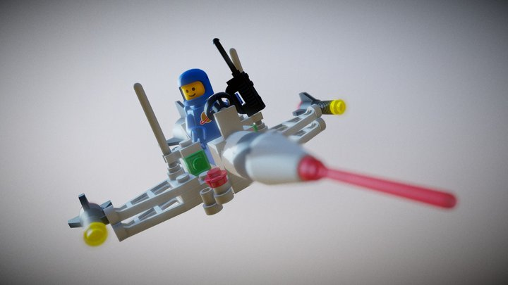 LEGO Space Dart I 3D Model