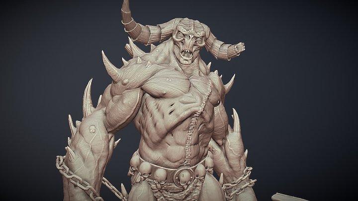 Hephasto the Armorer from diablo 3D Model