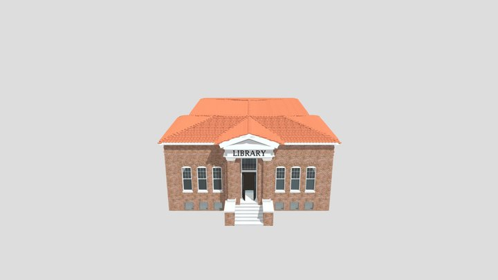 Lawrie Library 3D Model