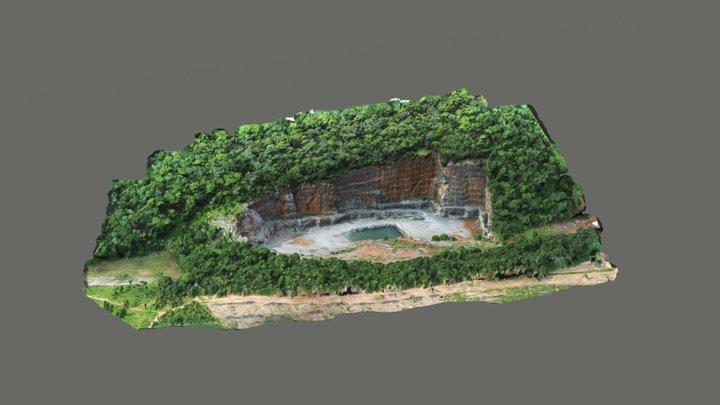 Pedreira do Tamboril - Unaí, MG, Brasil. 3D Model