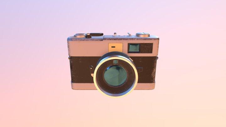 Camera Model, Minolta Hi-Matic 7 SII 3D Model