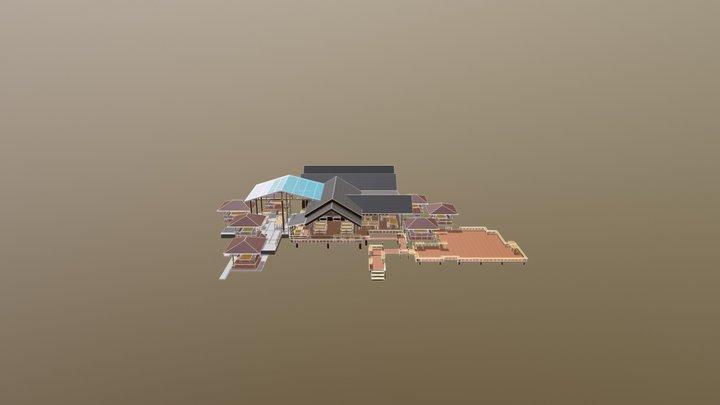 ร้านอาหาร 3D Model