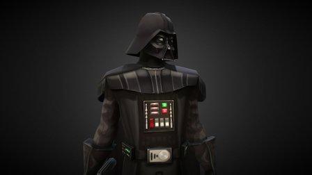 Darth Vader - Star Wars : Galaxy of Heroes 3D Model