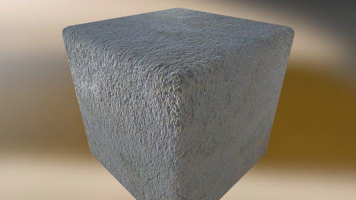 White Plaster Substance 3D Model