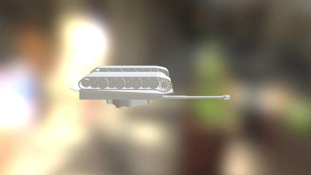 Tank EX1 3D Model