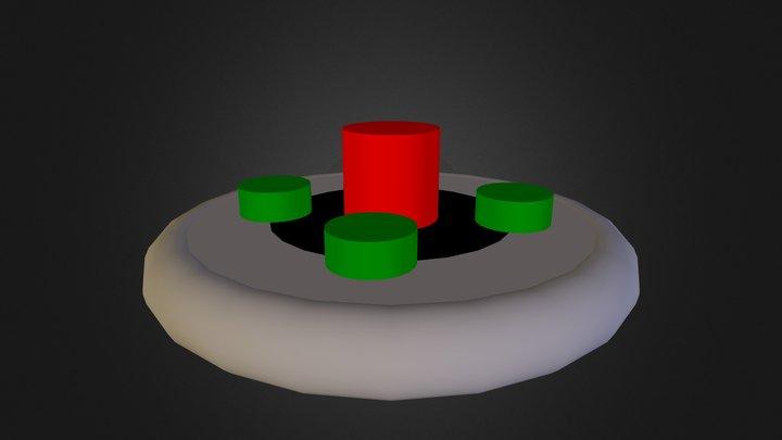 Soucoupe volante 3D Model