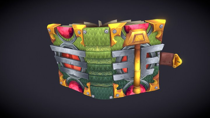 Tome of the Gorgon 3D Model