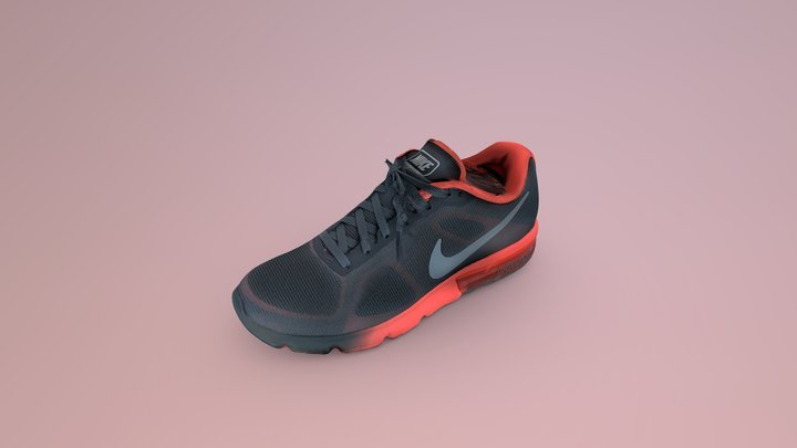 Nike Air Max Sequent 3D Model