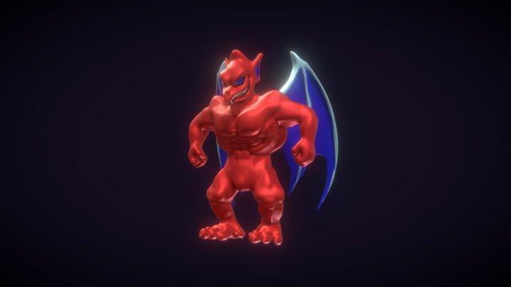 Red Arremer Sculpt 3D Model