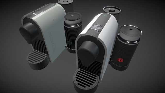 Comp Nespresso 3D Model