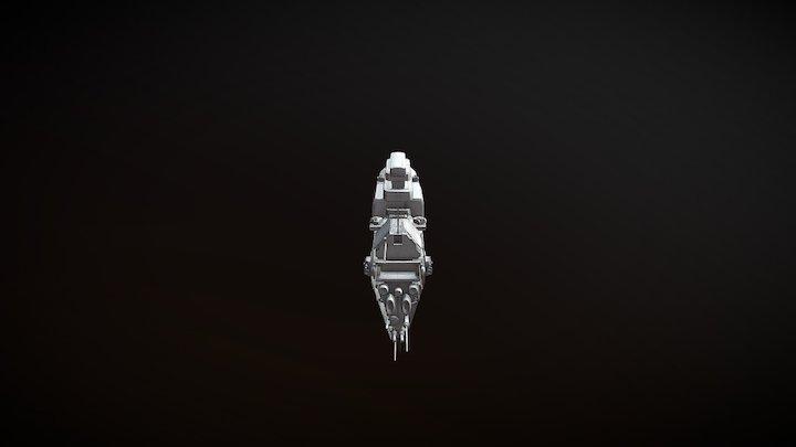 Omega Class Destroyer 3D Model