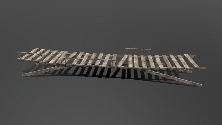 Old Footbridge 3D Model