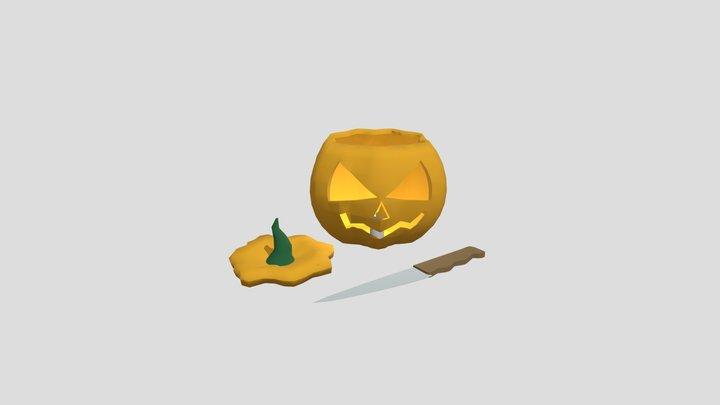 Halloween 3D Model
