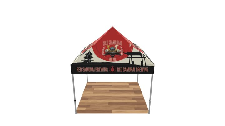One Choice 10ft Steel Casita Canopy 3D Model