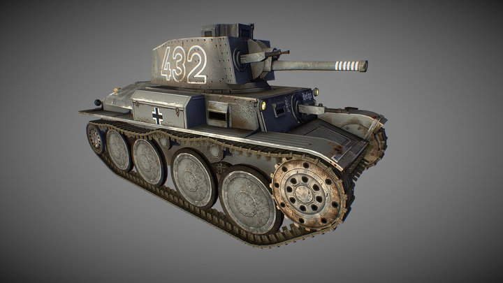 PanzerTank3 3D Model