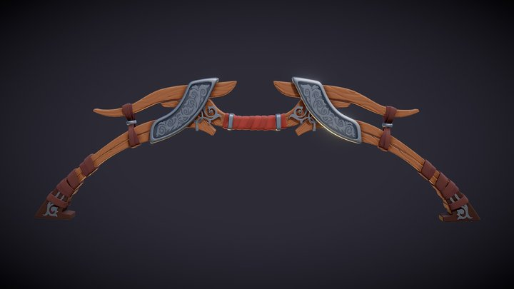 DS - The Adventurer's Bow 3D Model