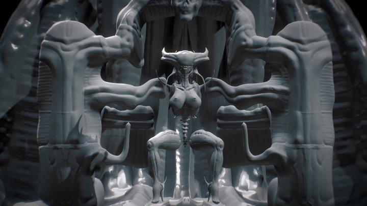Biomechanoid 3D Model