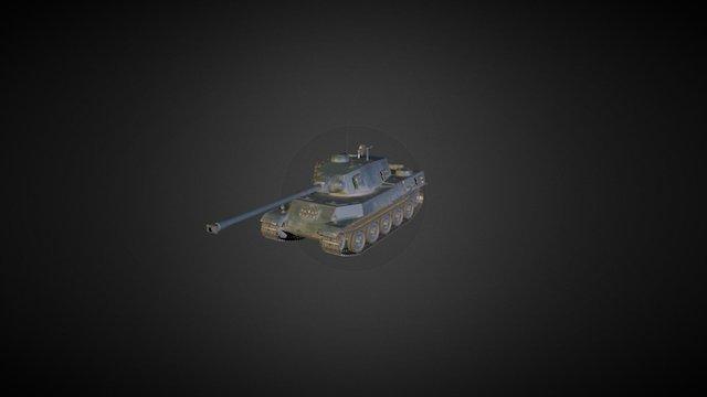 AMX M4 mle. 49 3D Model