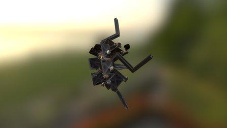 SpaceKraken 3D Model