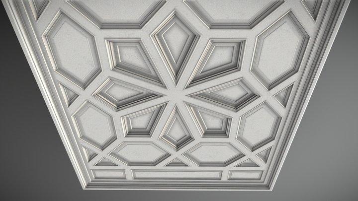 Ceiling Design Pl-c4 3D Model