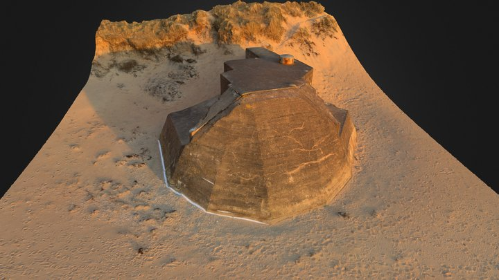 Bunker 794 3D Model