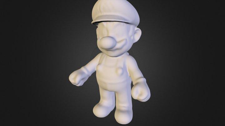 mario_obj.obj 3D Model