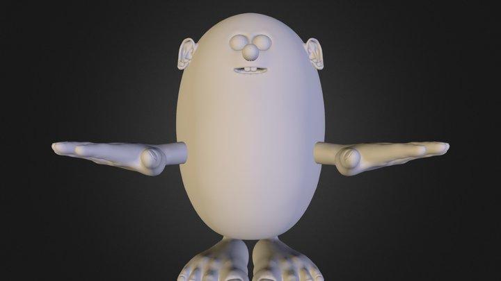 Crocco.obj 3D Model