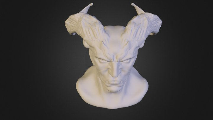 Busty Bust 3D Model