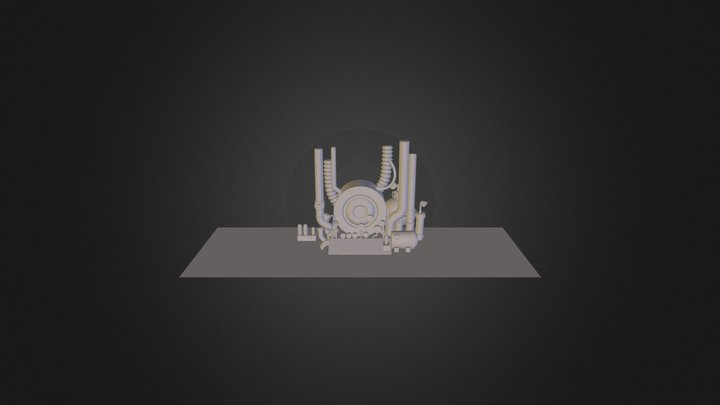 machine des enfers 3D Model