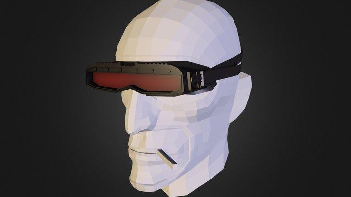 Spy Futuristic Glasses - Team Fortress 2 3D Model