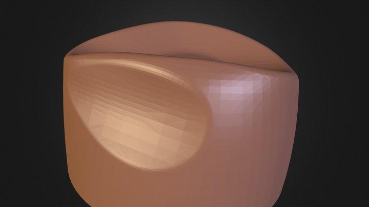 Kinsey Hat Block 3D Model