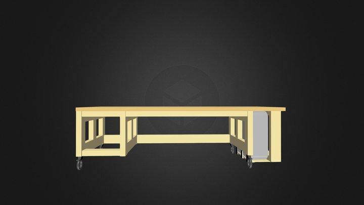 Test Bureau 02 3D Model