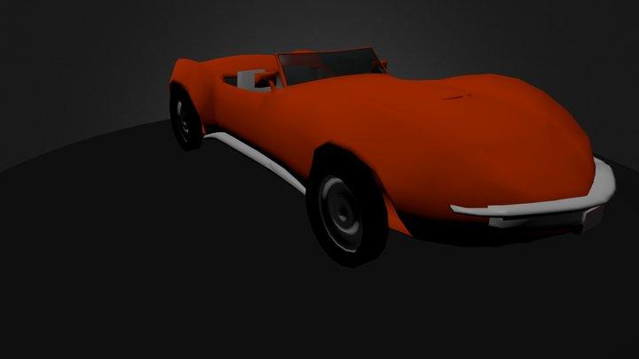 Corvette1967.blend 3D Model