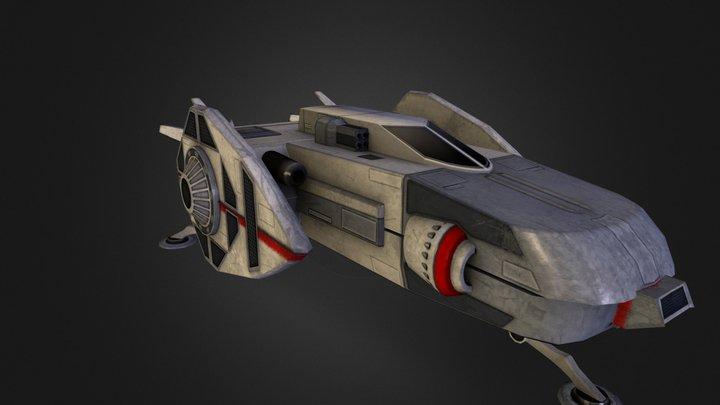 CERES Shuttle 3D Model