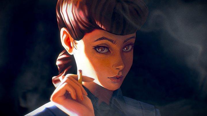 Rachael - Blade Runner 3D Model