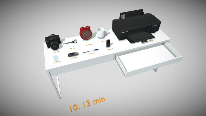 HW_1 | 40 min Draft 3D Model