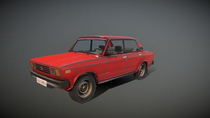 Lada Riva 1986 3D Model