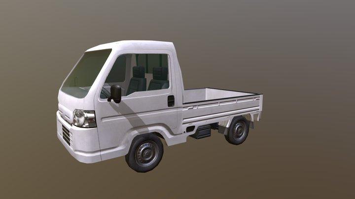 Honda Acty lowpoly model 3D Model