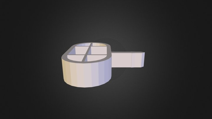Bouton Grillepain 3D Model